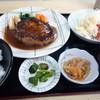 定食 卓味 - 料理写真:「ハンバーグ サラダ付き」1,000円也。税込。