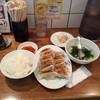 渋谷餃子 - 料理写真:W餃子定食680円+消費税
