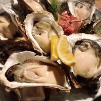 牡蠣食べ比べ