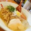 麺や 亀陣 - 料理写真:冷たいさんま節塩そば柚子系