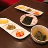 チョウォン - 料理写真:本日の一品、韓国のり、スープ(ランチ)