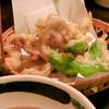 鬼のかくれ場 - 料理写真:鶏せせりの天ぷら