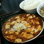 紅花 - 麻婆豆腐:素晴らしい表面張力!