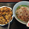 聚鑫楼 - 料理写真:台湾ラーメン+麻婆丼880円