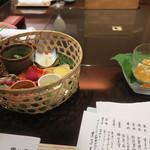 黒茶屋 - 先付、前菜
