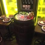 アラビック酒場 タムタム・クラブ - ランチのサラダバー