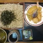 善作 - 2016年7月 天ざる 1300円+税