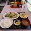 盛華楼 - 料理写真:ニラ玉炒め+ライス
