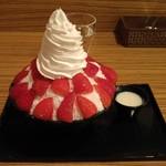 ヒミツノハナゾノ - 料理写真:苺雪物語(2016/8)