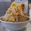 らーめん大 - 料理写真:らーめん中(野菜増し、味濃いめ、2016年9月5日)