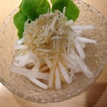 てんぷら・松 - サラダ