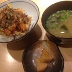 てんぷら・松 - 松天丼1800円