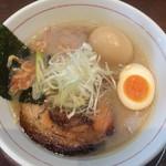 まっくうしゃ - 塩(海老×鯛) 味玉