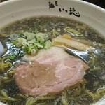 麺屋 いっ徳 - 黒醤油 今は500円。
