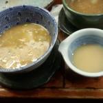 つけ麺 紫匠乃 - スープ割り