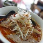 御麺安 - 料理写真:ピリ辛ネギラーメン