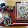 手打ち蕎麦処 京屋 - 料理写真:合もり「そば」(1100円)_2016-09-03