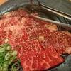 鶴一 - 料理写真:カルビ  上ハラミ