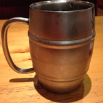 コメダ珈琲店 - ドリンク写真:たっぷりアイスコーヒー 専用ジョッキ