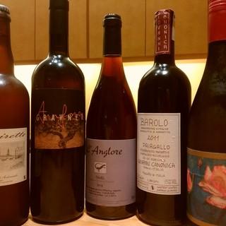 きたうら善漁。 - 料理写真:日本酒は勿論、ワインは70種ございます