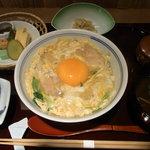 鳥彌三 あざみ - 地鶏の親子丼ご膳やったかな。名前うろ覚え~。