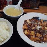 中国家庭料理 家京 - 麻婆豆腐定食