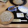 蕎麦 ひびき庵 - 料理写真:ゆばせいろ、そば焼きみそ