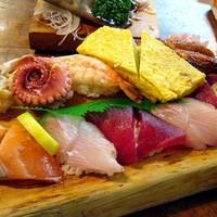 新鮮な魚介類がボリューム満点