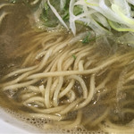 白菜タンメン楽観 - 麺