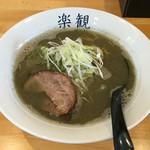 白菜タンメン楽観 - 「煮干しらーめん」780円