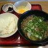 麺家明石 - 料理写真:朝定食 そば (320円)