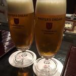 肉匠 なか田 - やっぱりビールが飲みたい〜