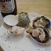 水沼さざえ店 - 料理写真:ビール&浜焼き~☆