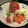 九段下 寿司政 旬八海 - 料理写真:「お刺身四点盛り」