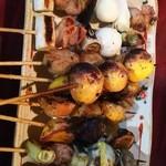 狸の焼鳥 - 料理写真: