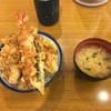 天丼てんや - 料理写真:天丼 小盛りに舞茸トッピング
