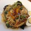 松福 - 料理写真:かた焼きそば¥900
