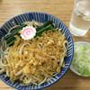 翁そば - 料理写真:冷やしたぬき(500円)