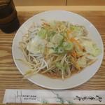 源太郎そば - 野菜どっさりそば¥480-