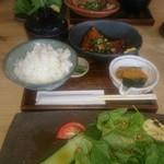 楽豚 - 豚トロ定食