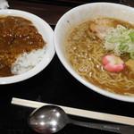 ダイニング 叶匠寿庵 - 京風ラーメンカレー定食
