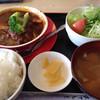 レストランぶぉーの - 料理写真:ハンバーグセット(税込600円)