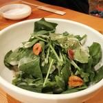 笑 - ほうれん草サラダ
