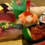 新月寿司 - 可愛い まん丸海老 ♪
