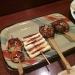 四季彩 - にんにく*ネギ*椎茸の肉詰め