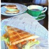 cafe サザン - 料理写真:2016/9再訪 牡蠣サンドでモーニング