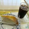 ドトールコーヒーショップ - 料理写真:ケーキセット(アイスコーヒーとミルクレープ)