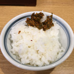 東京豚骨ラーメン 屯ちん - ご飯無料