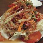 バンコク - 青パパイヤのサラダ