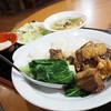 台南担仔麺 - 料理写真:扣肉飯 (豚の角煮丼)ランチ